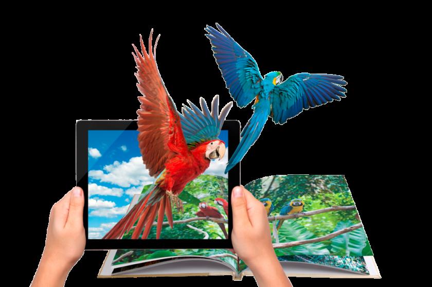 AR – thực tế ảo và thiết kế lịch